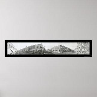 Blackwellのオクラホマの写真1910年 ポスター