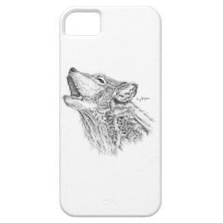 Blackworkのオオカミの電話箱 iPhone SE/5/5s ケース