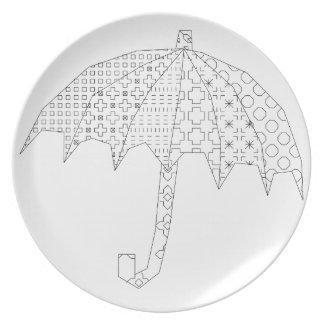 blackworkの傘 プレート