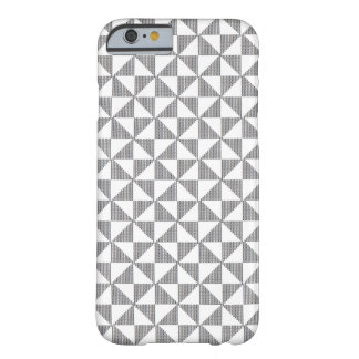 Blackworkの針先のブロックパターン場合 Barely There iPhone 6 ケース