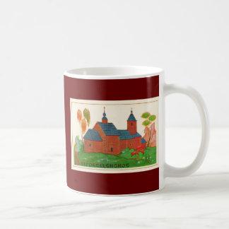 Blagoveshchenskoyeの木製のロシアのな教会 コーヒーマグカップ