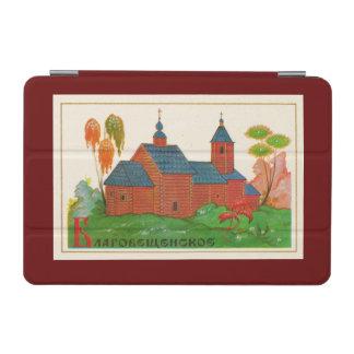 Blagoveshchenskoyeの木製のロシアのな教会 iPad Miniカバー
