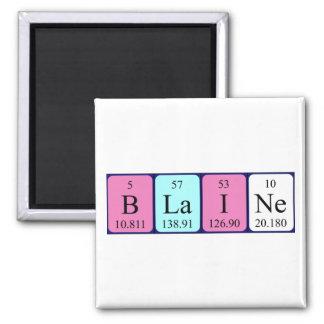 Blaineの周期表の名前の磁石 マグネット