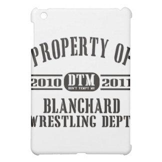 Blanchardのレスリングの特性 iPad Miniケース