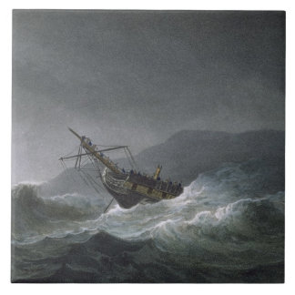 Blancheの損失、Abrevackを離れて、1807年3月4日、 タイル