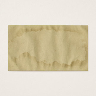 Blank Vintage Grunge Aged Stained Old Paper 名刺