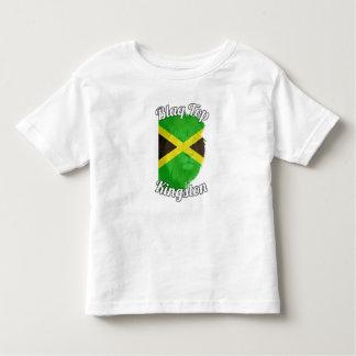 Blaqの上の幼児のキングストンのティー トドラーTシャツ