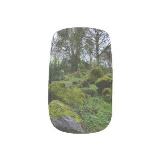 Blarneyの城の森林 ネイルアート