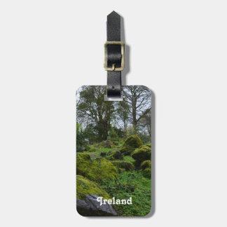 Blarneyの城の森林 ラゲッジタグ