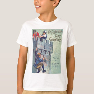 Blarneyの城の石の接吻 Tシャツ