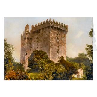 Blarneyの城アイルランド カード