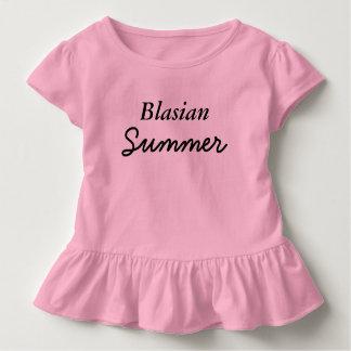 Blasianの夏はティーをからかいます トドラーTシャツ