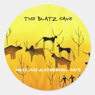 Blatzの洞窟、ミルウォーキー、WI ラウンドシール