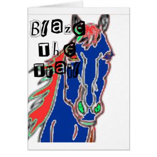 blazethetrailの範囲 カード