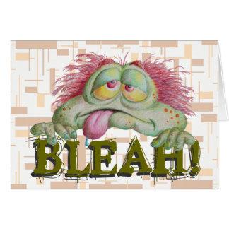 BLEAH! カード