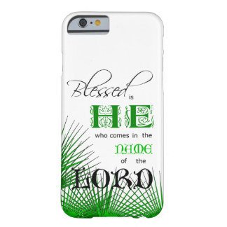 blessed彼です barely there iPhone 6 ケース
