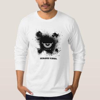 Bliccの深刻なウイルスの袖++ Tシャツ