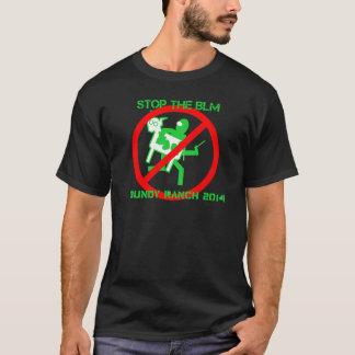 BLMをストップ! - Bundy牧場を救って下さい Tシャツ