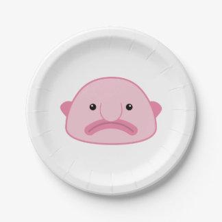 Blobfishの紙皿 ペーパープレート