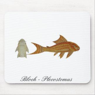 Bloch - Plecostomusのmousepad マウスパッド