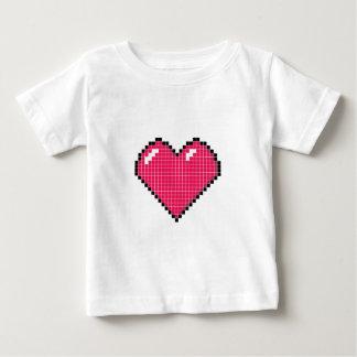 Blockyハート ベビーTシャツ