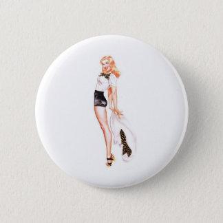 Blondie 5.7cm 丸型バッジ