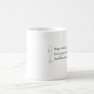 """bloodsucking蛭""のマグ コーヒーマグカップ"