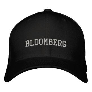 Bloomberg 刺繍入りキャップ