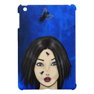 Blowfliesおよび女の子(青い細菌) iPad Miniケース