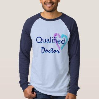 Blueおよび海軍修飾された博士 T-シャツ