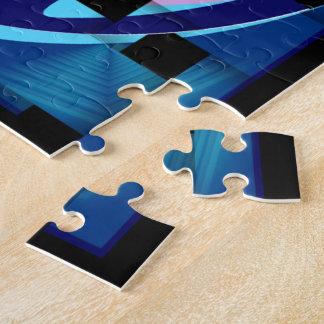 Blue女性ジグソーパズル パズル