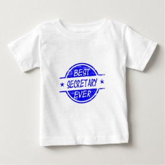 Blue最も最高のな秘書 ベビーTシャツ