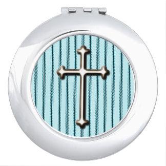 "Blue*の鏡をround_MatressTicking ""十字"" * FAITH_"