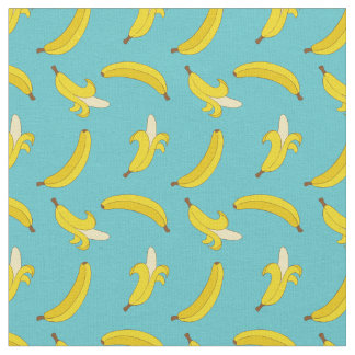 Blue Bananas ファブリック