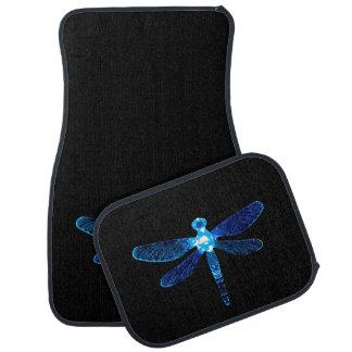 Blue Dragonfly Car Mats カーマット