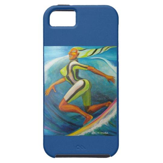 Blue G surfer iPhone SE/5/5s ケース