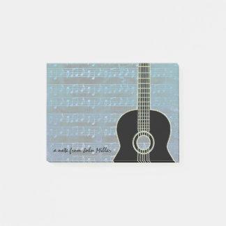 Blue Notes Guitar ポストイット