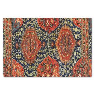 blue&orangeの東洋の敷物 薄葉紙
