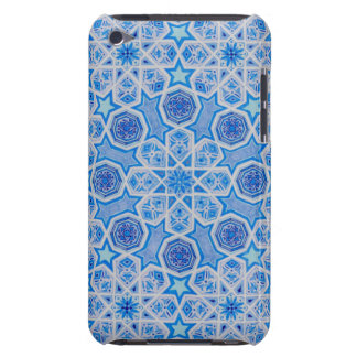 Blue pattern iPhone case 「祝福」 Case-Mate iPod Touch ケース