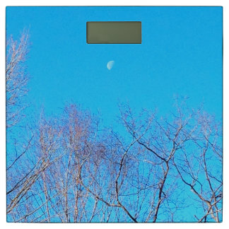 Blue Sky and moon Scale 体重計