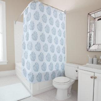 Blue Tropical Shower Curtain シャワーカーテン