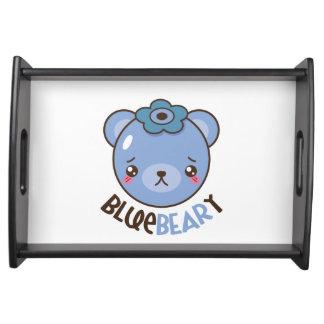 BlueBearyのブルーベリーくま トレー