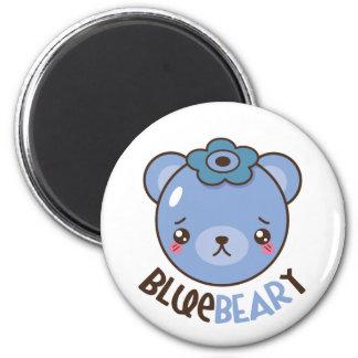 BlueBearyのブルーベリーくま マグネット