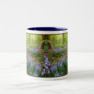BLUEBELLの木製の~のツートーンマグ ツートーンマグカップ