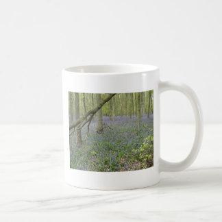 Bluebellの森のマグ コーヒーマグカップ