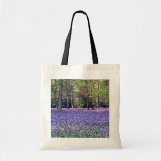 Bluebellの森、イギリスの花 トートバッグ