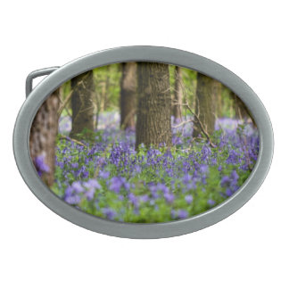 Bluebellの森 卵形バックル