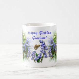 BLUEBELLの祖母のための木製の~のマグ コーヒーマグカップ