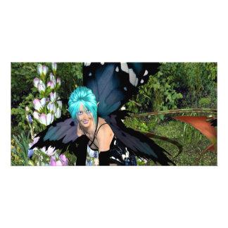 Bluebellの花の妖精 カード