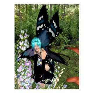 Bluebellの花の妖精 ポストカード